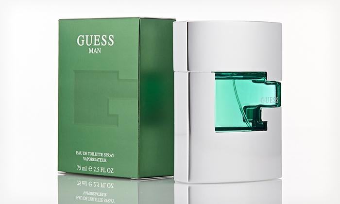 Guess Men Eau de Toilette Spray: $23.99 for 2.5 Oz. Guess Man Eau de Toilette Spray ($50 List Price). Free Shipping.