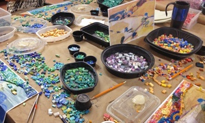 The Chicago Mosaic School: BYOB Mosaic Basics Workshop for One or Two at The Chicago Mosaic School (Up to 57% Off)
