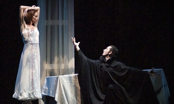 """California Ballet - San Diego Civic Theatre: California Ballet's """"Dracula"""" at the San Diego Civic Theatre on October 27–28 (Up to 59% Off). Four Options Available."""