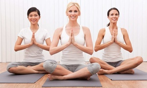Revolution Yoga: Two or One Months of Unlimited Yoga Classes at Revolution Yoga (Up to 85% Off)