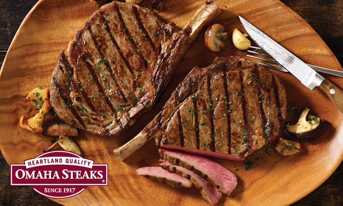 Omaha Steaks: Dinner Package or Private Reserve Package from Omaha Steaks ( 59% Off )