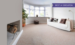 Commercially Clean: Three Rooms of Carpet Cleaning from Commercially Clean (Up to 49% Off)