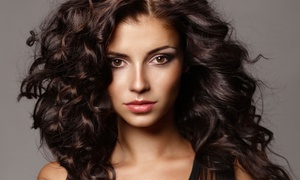 Baby Blue Beauty Ladies Salon: Keratin Hot Oil Treatment with Cut, Trim and Optional Colour at Baby Blue Beauty Ladies Salon (Up to 69% Off)