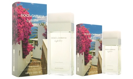 Dolce and Gabbana Light Blue Escape to Panarea Limited Edition Eau de Toilette for Women; 1.6 or 3.3 fl. oz.