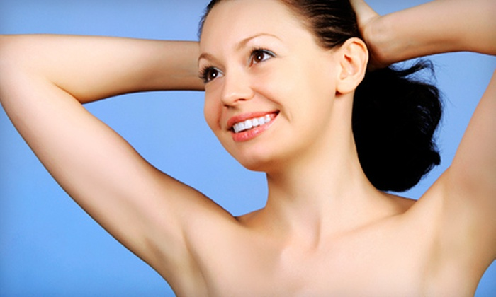 SkinStar Laser Med Spa - Walnut Valley: Three or Up to Eight Laser Hair-Removal Treatments on a Small or Medium Area at SkinStar Laser Med Spa (Up to 83% Off)