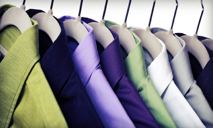 Cleanitizing - Edmonton: Laundry and Dry-Cleaning Services at Cleanitizing (Up to 57% Off). Three Options Available.