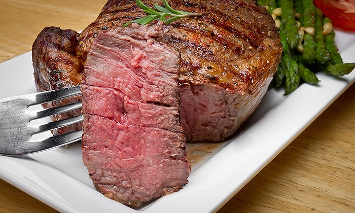 Ron's Steakhouse - Las Vegas: Steakhouse Food and Drinks for Two or Four at Ron's Steakhouse (Up to 41% Off)