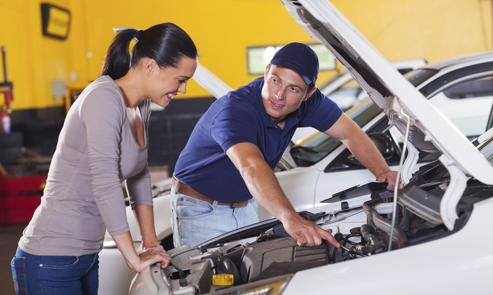 A-Plus Auto Service Center - Gilroy: One or Three Groupons, Each Good for One Regular or Synthetic Oil Change at A-Plus Auto Service Center (Up to 76% Off)