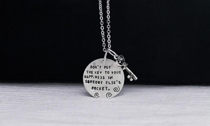 Monogramhub.com: $5 for a Key to Happiness Necklace from Monogramhub.com ($49.99 Value)