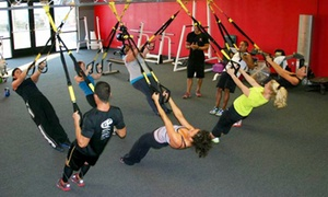 Tony Cress Personal Training: 5 or 10 TRX Suspension-Training Sessions at Tony Cress Personal Training (Up to 68% Off)
