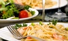 Station 885 - Plymouth: Italian and American Food for Lunch or Dinner at Station 885 (Up to 53% Off)