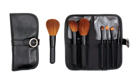 Travel Makeup Brush Set (6-Piece)
