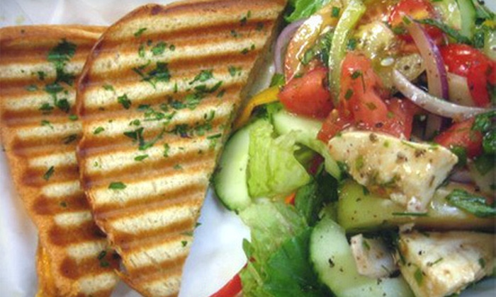 Café C - Café C: $10 for Custom Sandwiches or Salads for Two with Drinks at Café C (Up to $21.98 Value)