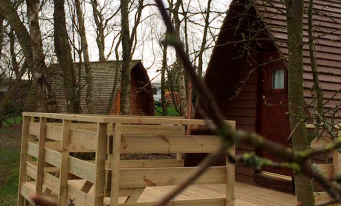 Cumbria: 1- or 2-Night Glamping Pod Stay for Up to Five at Wild Rose Park
