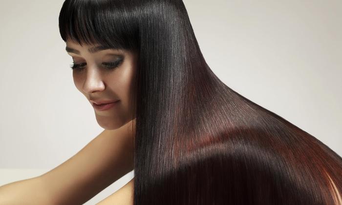 Ambassador Salon - Central Area: Haircut with Shampoo and Style from Ambassador Salon Salem (60% Off)