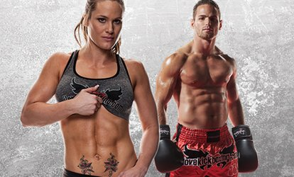 4 or 10 <strong>Kickboxing</strong> Classes with Personal-Training Session and <strong>Boxing</strong> Gloves at iLoveKickboxing.com  ( 74% Off )