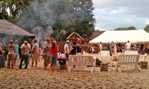 Kaya Beach: Rolling Buffet from R279 for Two at Kaya Beach