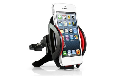 Air vent smartphone car mount groupon goods for Abco salon services