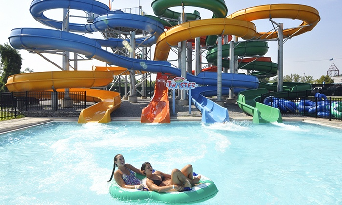 Coney Island - Anderson: Pool and Ride Combo Tickets with Pizza for Two or Four at Coney Island (Up to 43% Off)