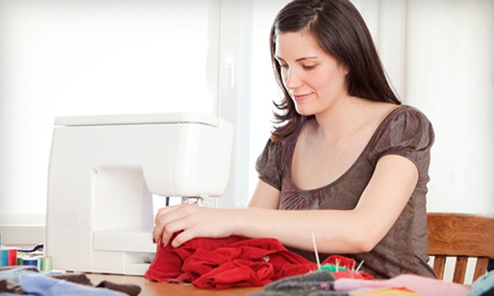 Loving Stitches - Pine Forest: Two-Hour Sewing Class for One or Two at Loving Stitches (Up to 55% Off)