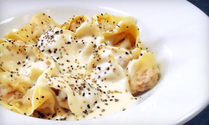 Tortellini Originali Pasta Company - Half Moon Bay: Three-Course Pasta Dinner for Two or Four at Tortellini Originali Pasta Company in Half Moon Bay (Up to 51% Off)
