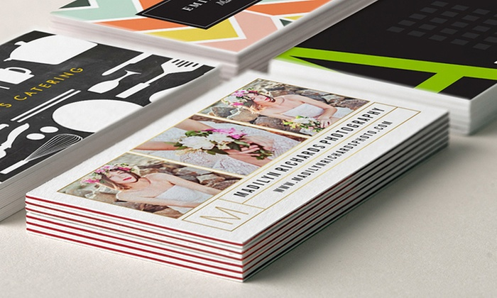 Zazzle: 100 or 200 Standard or Ultra-Thick Personalized Business Cards from Zazzle (Up to 59% Off)