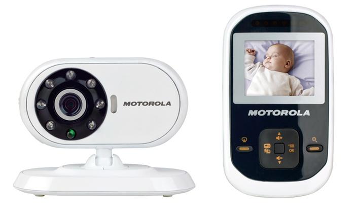 motorola baby monitor groupon goods. Black Bedroom Furniture Sets. Home Design Ideas