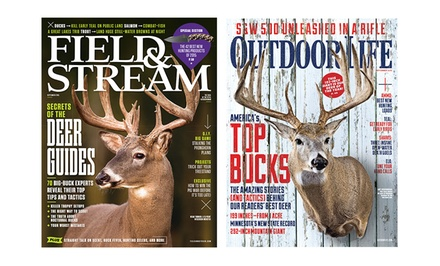 1- or 2-Year Subscription to Outdoor Life or Field & Stream