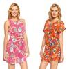 Vacation Inspiration Women's Floral Print Dress