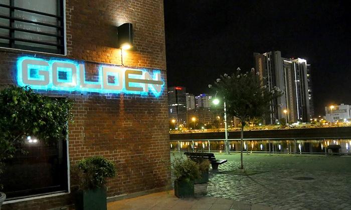 Golden Puerto Madero - Golden Puerto Madero: $319 en vez de $600 por pase VIP + cena para dos en Golden Puerto Madero