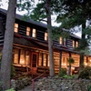 Lodge & Cabins in Pennsylvania Forest