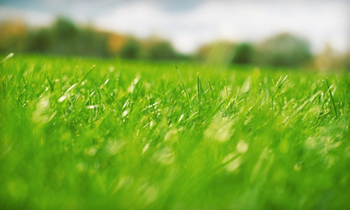 Serenity Lawn & Landscape Inc. - Calgary: Fall or Spring Fertilization Plus $20 for Aeration Services from Serenity Lawn & Landscape Inc. (58% Off)