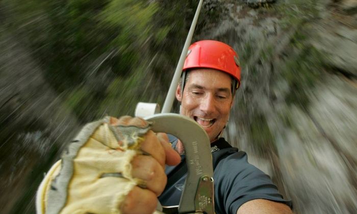 Cypress Valley Canopy Tours - Southwest Travis: Zipline Canopy Tour with a T-Shirt for One or Two from Cypress Valley Canopy Tours (Up to 38% Off)