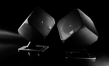 Palo Alto Audio Design Cubik Digital Hi-Fi Multimedia Speakers (DRB8683-KBKS).