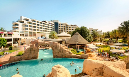 Al Ain: One Night Stay for Two with Half Board or All Inclusive at the 5* Danat Al Ain Resort