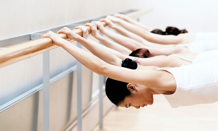 5 or 10 Barre Fitness Classes at The Pilates Place (Up to 53% Off)
