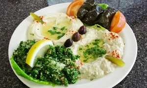 Prince Lebanese Grill: $12 for $20 Worth of Lebanese Dinner Cuisine at Prince Lebanese Grill