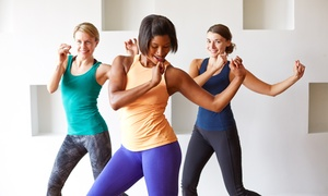 For The Health Of It: One Month of 8 Pound Classes or One or Three Months of Unlimited Classes at For The Health Of It (Up to 62% Off)