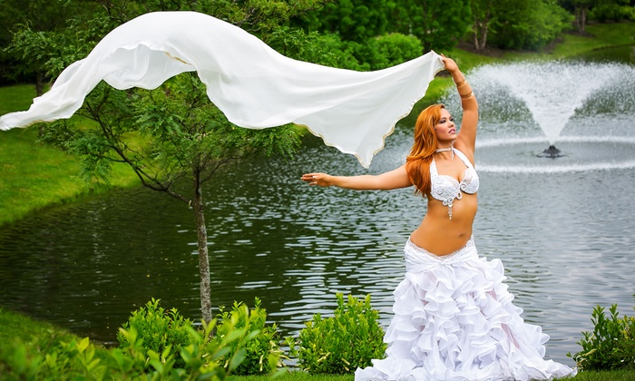 Adonia Belly Dance - Studio Energia: One or Four Belly Dance Workout Classes for One or Two at Adonia Belly Dance (Up to 51% Off)
