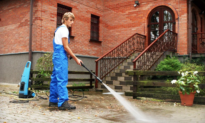 Baps Painting - Allentown / Reading: Up to 1,500 or Up to 2,500 Square Feet of Exterior Pressure Washing from Baps Painting (Up to 66% Off)