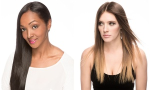 Louis Quarterman Salon: Haircut, Hydration Treatment, and Optional Full or Partial Highlights at Louis Quarterman Salon (Up to 55% Off)