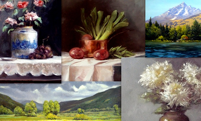 Geoffrey Barbey Fine Art - Dobbs Ferry: Two or Four Three-Hour Adult Painting Classes at Barbey Art (Up to 71% Off)