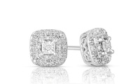 GROUPON: Diamond Accent Stud Earrings Diamond Accent Stud Earrings