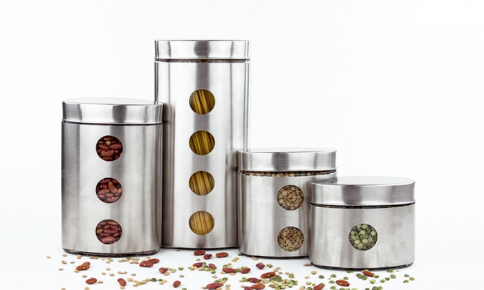 kitchen canister sets groupon goods