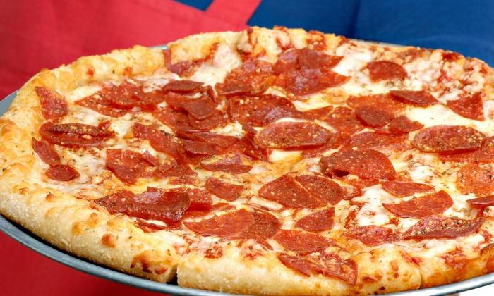 ZZ Gators Pizza and Pub - Kingwood: One Large One-Topping Pizza for Two or Two Large One-Topping Pizzas for Four at ZZ Gators Pizza and Pub (49% Off)