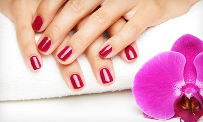 Samar Spa - Upper East Side: One or Three Regular Manicures and Pedicures at Samar Spa (Up to 62% Off)