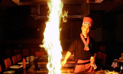 image for $13.50 for $25 Worth of Japanese Dinner for Two at Fuji Japanese Steakhouse