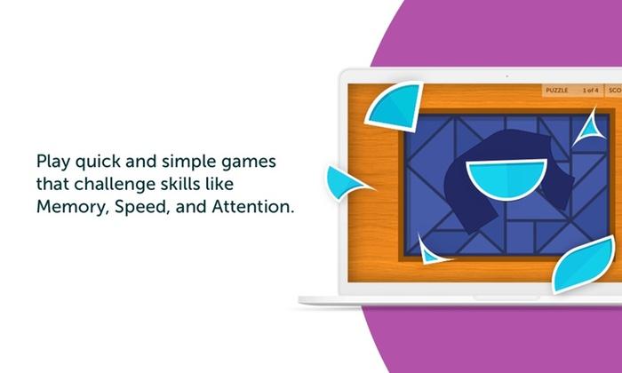 Brain Games and Memory Focus - Lumosity | Groupon
