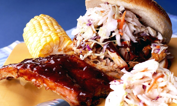 Ribs-n-Things BBQ - Upper B Street: One Dessert with Purchase of Any Combination Plate at Ribs-n-Things BBQ