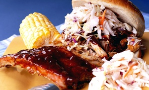 Ribs-n-Things BBQ: One Dessert with Purchase of Any Combination Plate at Ribs-n-Things BBQ